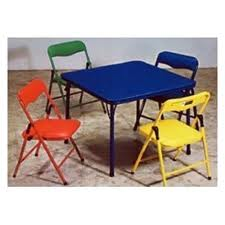 Children S Folding Table Amp Chairs Rental