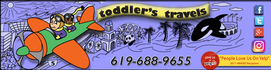 Toddler's Travels is a baby gear rental agency in San Diego